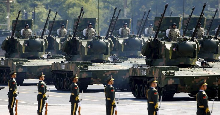 Anti-aircraft artillery are displayed during the military parade to mark the 70th anniversary of the end of World War Two, in Beijing, China, September 3, 2015. REUTERS/Damir Sagolj - RTX1QU4G Comments By: Amando Flavio via anonhq.com Following the July 12th 2016 ruling by the Permanent Court of Arbitration (PCA) in The Hague, that the People's Republic of China's nine-dash-line claim in the South China Sea, and its land reclamation activities on islets are invalid and unlawful, the Chinese