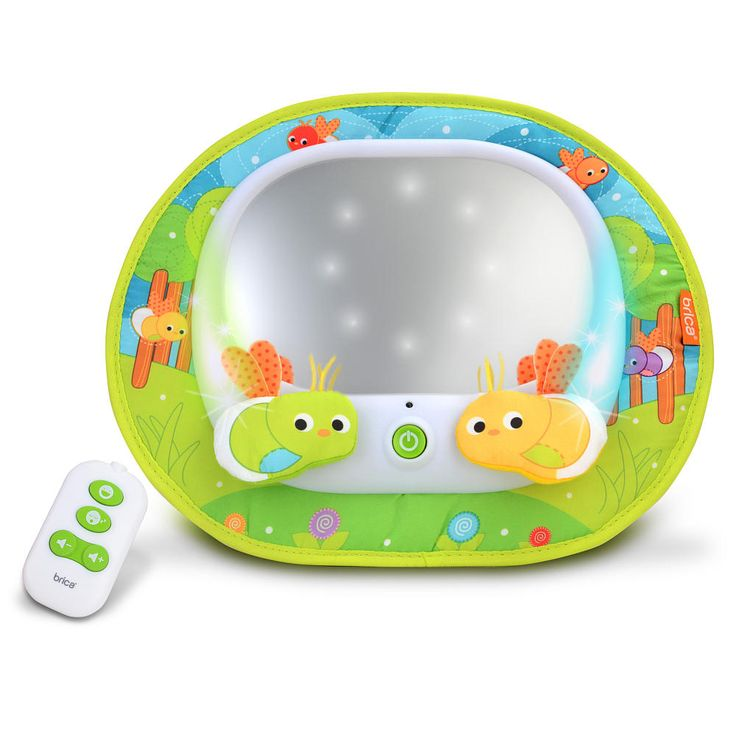 Brica Deluxe Baby In-Sight Firefly Mirror video
