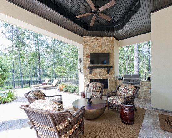1000 Images About Corner Fireplace Patio On Pinterest
