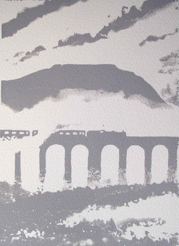 Grey Ribblehead by Ian Scott Massie