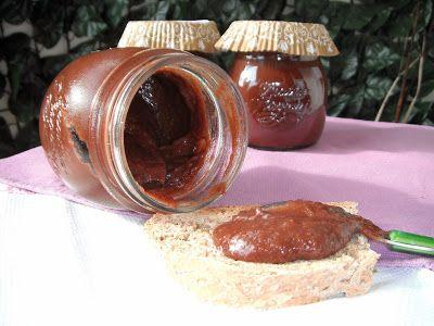 Confettura di pere e cacao