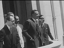 File:Suez nationalization.ogv-Movietone newsreels reporting Nasser's nationalization of the Suez Canal and both domestic and Western reactions  http://en.wikipedia.org/wiki/Gamal_Abdel_Nasser