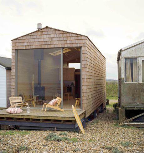 "Beach ""chalet"" ... or backyard getaway to a beautiful view Nina Tolstrup and Jack Mama"