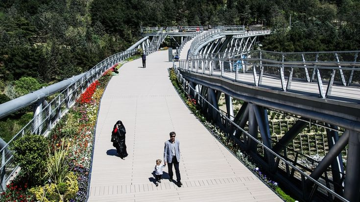 The award-winning bridge connecting Iranians Project dubbed as 'the third symbol of Tehran' earns international recognition for architect Leila Araghian.