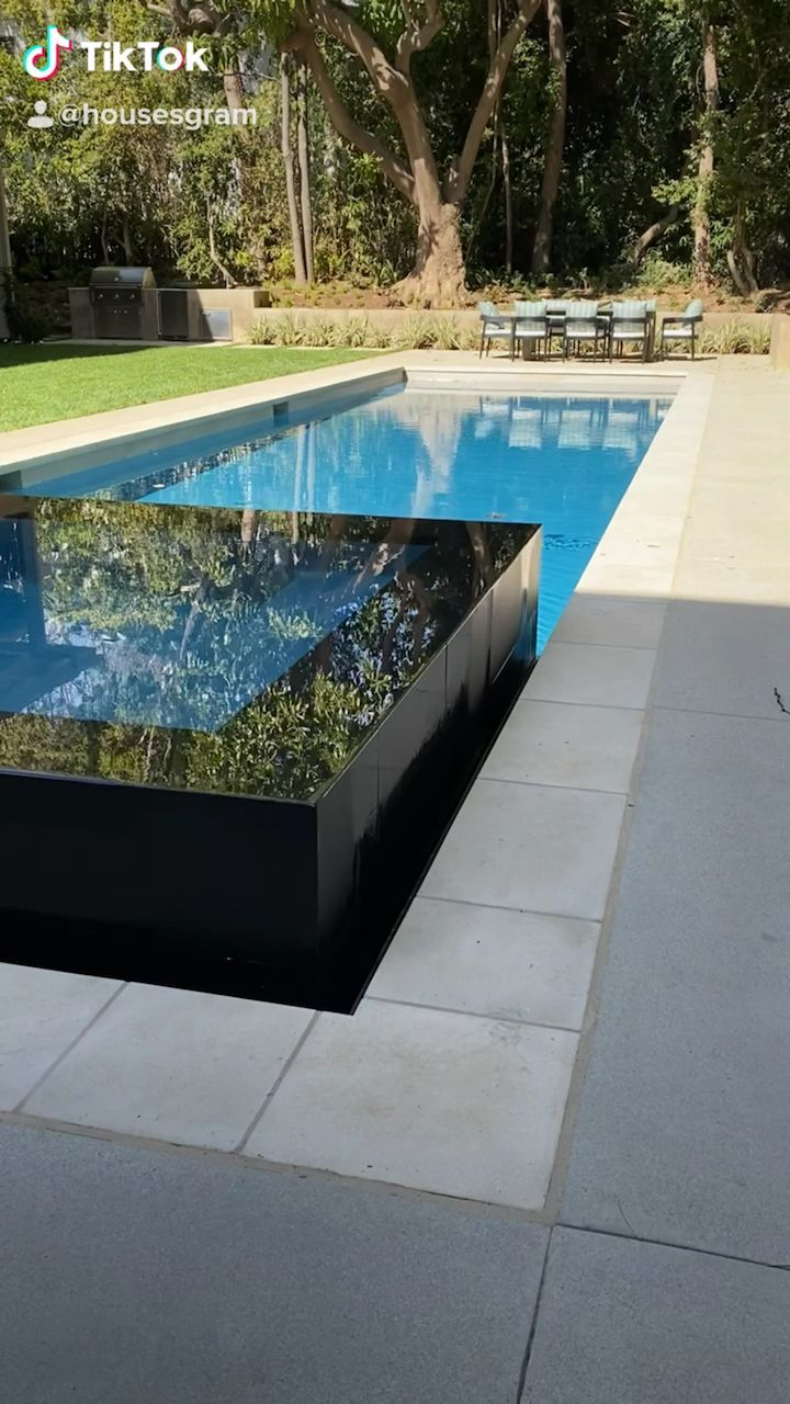 We Adore This Pool What Do You Think Homesexterior Housesexterior Luxuri Adore Pool Pool Landscaping Diy Swimming Pool Spa Pool