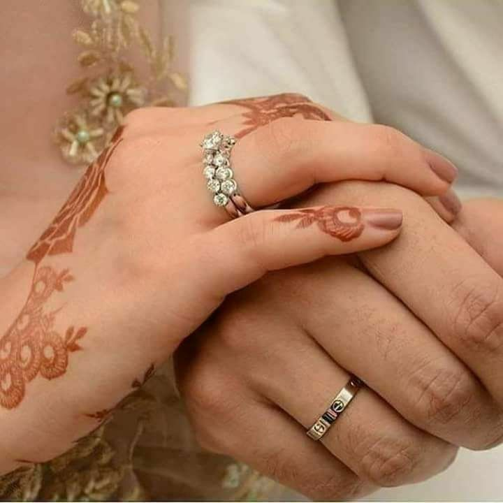 Amreen Ali Wedding Rings Engagement Couples Accessories