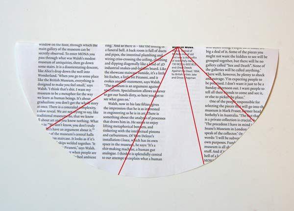 Une forêt de sapin en papier (de magazines)   La cabane à idées