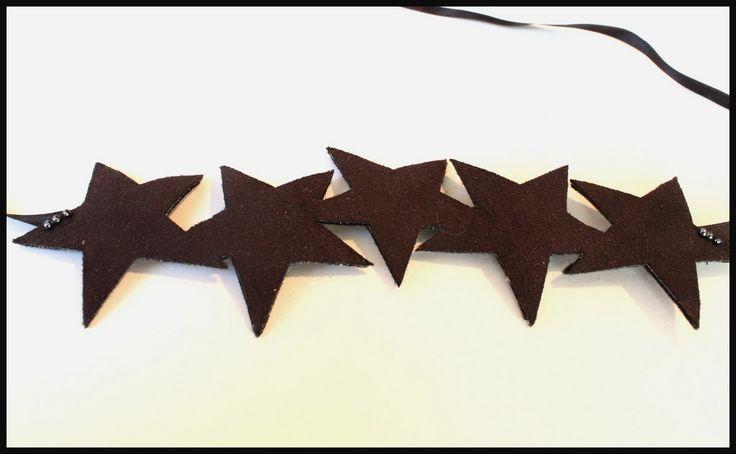"""Bandeau """"Star"""" noir"""