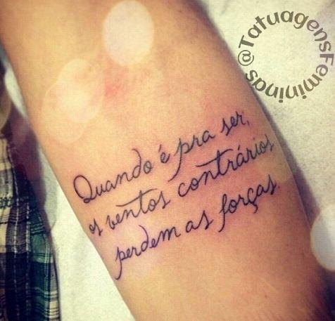 frase tattoo tatuagens pinterest ems and tattoos and