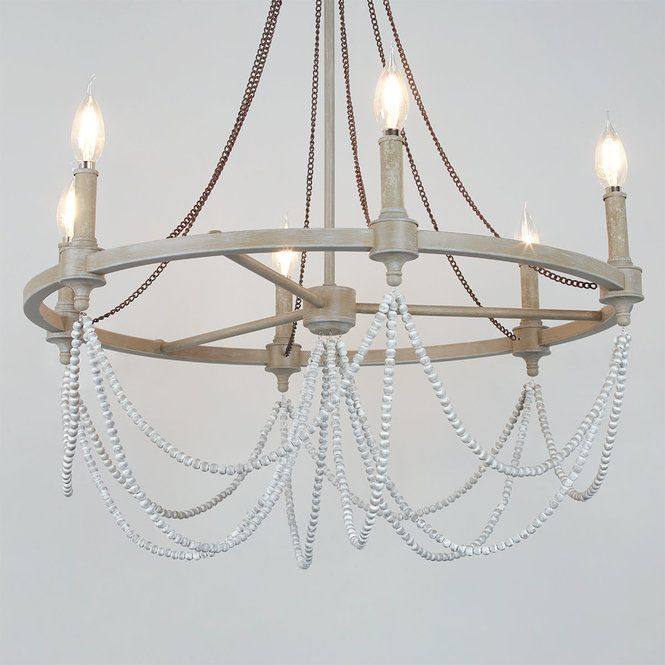 Elegant Rustic Drape Chandelier 6 Light Drapes And Blinds