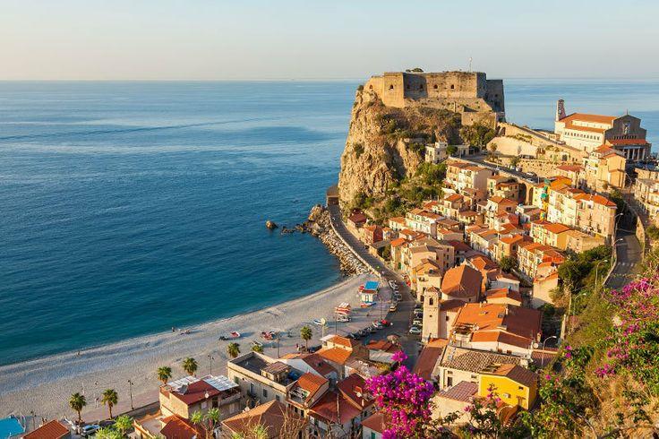 Süditalien/Kalabrien: Die Strandpromenade von Reggio Calabria