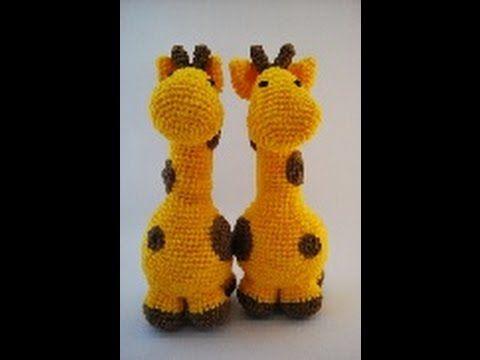 Crochet Amigurumi Giraffe Part 1 of 2 DIY Tutorial - YouTube