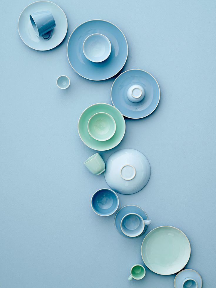 Ocean inspired Olivia tableware by Bloomingville