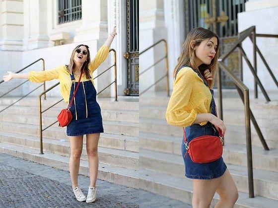 Get this look: http://lb.nu/look/8201473  More looks by Amy Ramírez: http://lb.nu/toks  Items in this look:  Corte Ingles Skirt, Corte Ingles Blouse, Joe & Mr.Joe Bag   #casual #minimal #street