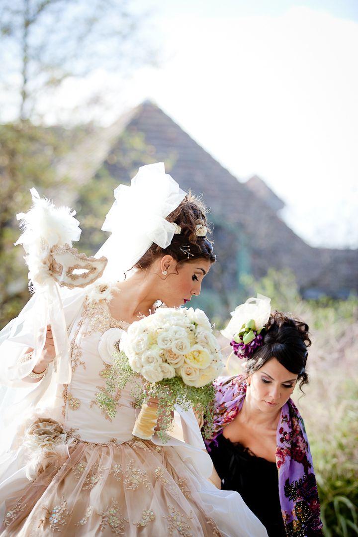 Masquerade Themed Wedding. Such A Unique Idea! More Here