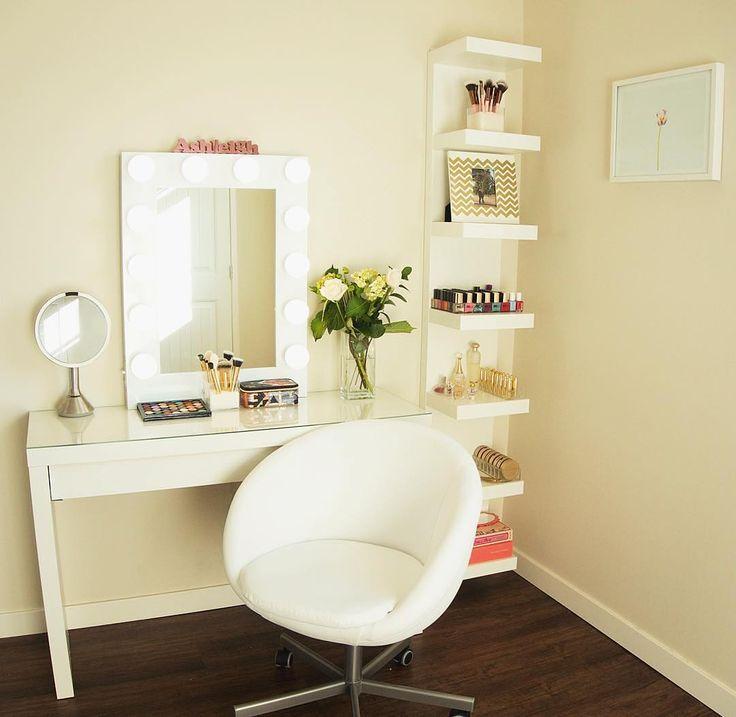 102 best GLAM ROOM images on Pinterest   Makeup rooms, Makeup ...