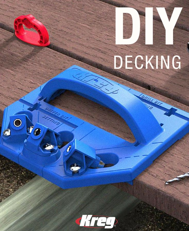 Whether you're building a new deck or refinishing an old one, you want to do the job right. With the Kreg Deck Jig, and a few simple tools you already own, you can create a beautiful and functional deck surface that is completely free of exposed fasteners and painful splinters. Traditional concealed-decking systems utilize awkward steel fasteners or thin plastic clips to hold your deck boards in place.