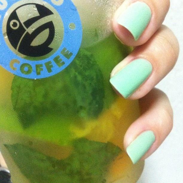colors nail fresh summer drink