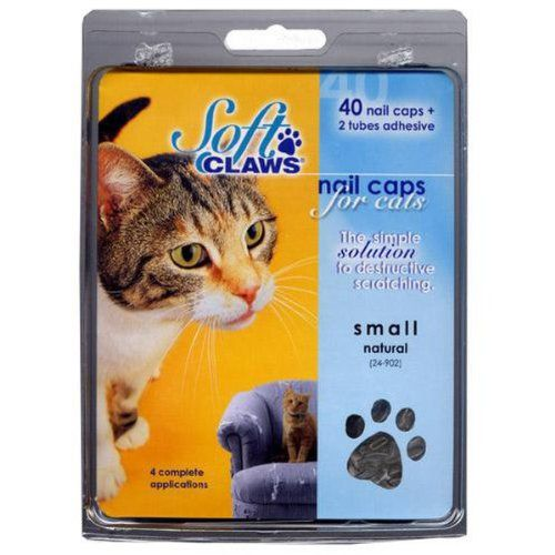 Cat Claw Covers: A Humane Option to Declawing - how to apply video..
