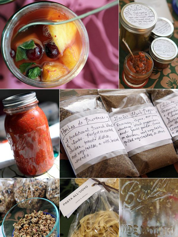 How a Food Swap works, 4 great tips for swappers