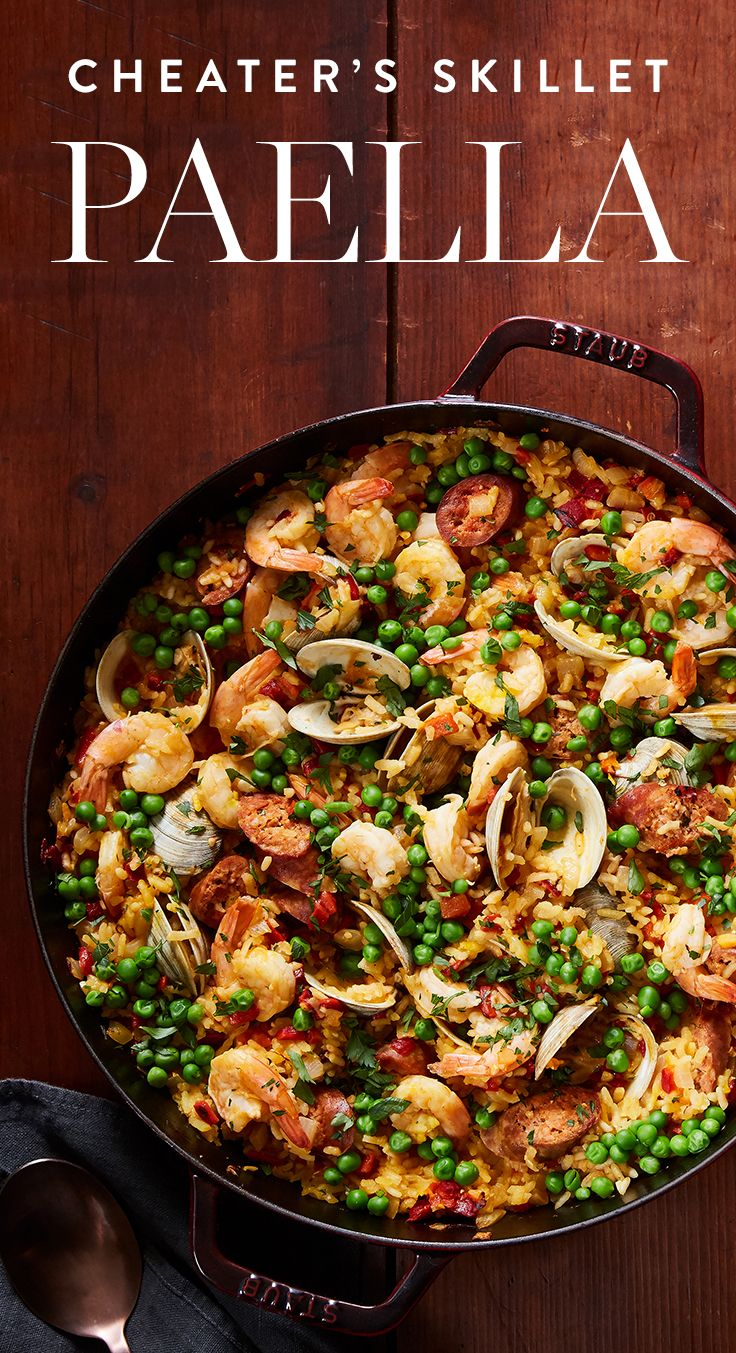 Shh, don't tell anyone, but here's the sneaky way to cook paella. — via @PureWow