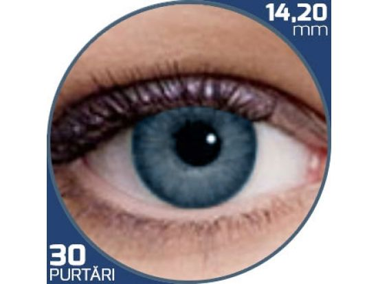 Air Optix Colors Blue | lentile de contact colorate albastre lunare - 30 purtari (2 lentile/cutie)