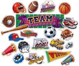 Sports Classroom Decorations | Sports Bulletin Board Sets CTP2083