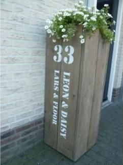 Von Restholz einen schönen Blumenkasten machen