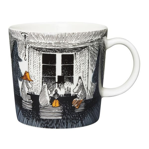 Available in September.  Moomin mug 0,3L, True to Its Origins. The new series, 'True to Its Origins', is based on Tove Jansson's last Moomin novel, 'Moominvalle