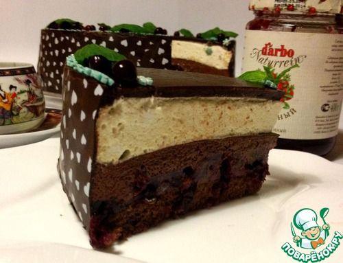 """Торт """"Клюквенный соблазн"""" - кулинарный рецепт"""
