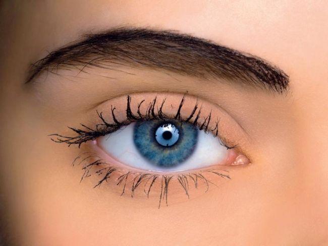 makijaż, oko, makijaż oka, brwi