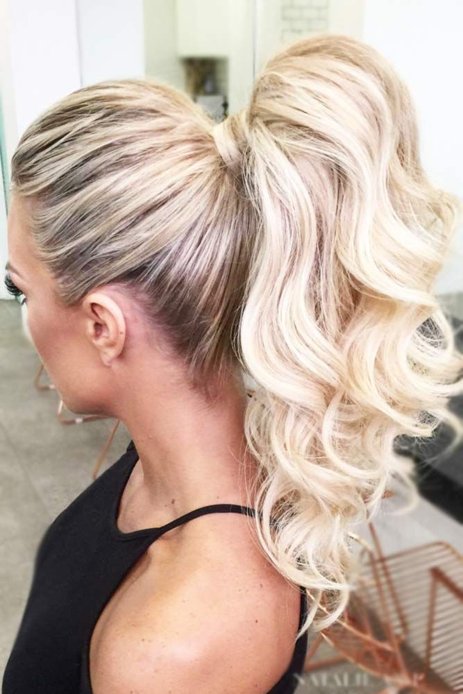 how to get a volumized ponytail