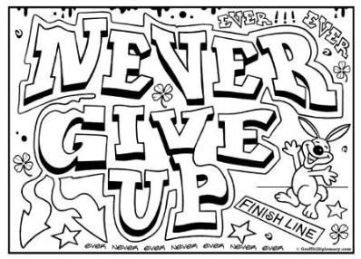 graffiti coloring page, free printables for kids to color, free graffiti drawing lessons
