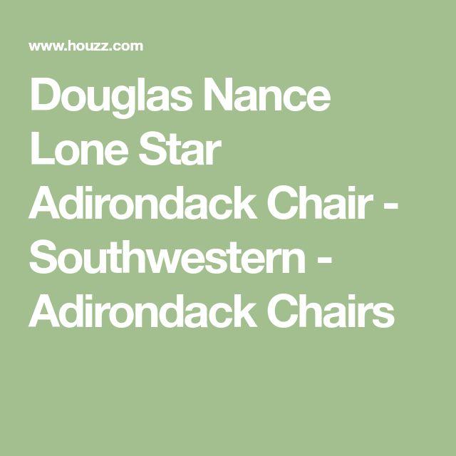 Douglas Nance Lone Star Adirondack Chair - Southwestern - Adirondack Chairs