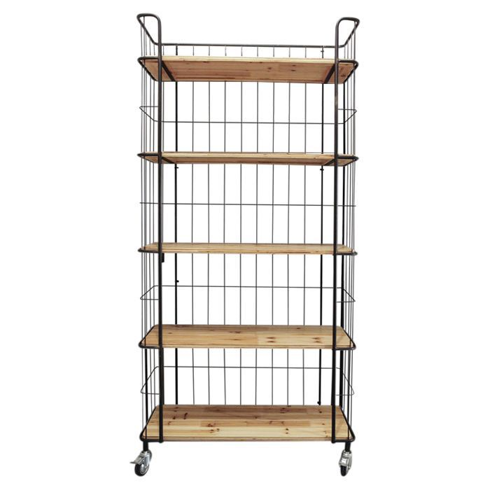 Bring Harmony To Your Busy Kitchen With This Must Have Wood And Wire Shelf Perfect For Displaying Liqueurs Colorful Mixing Bowls Cookbooks More