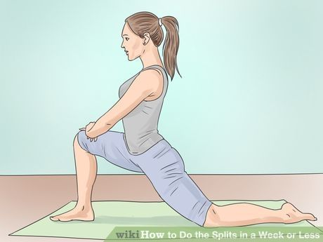How to learn the splits wikihow