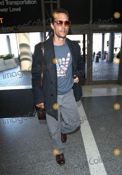 Matthew McConaughey @ LAX