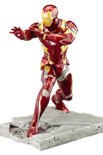 Captain America Civil War ARTFX+ Statue 1/10 Iron Man Mark 46