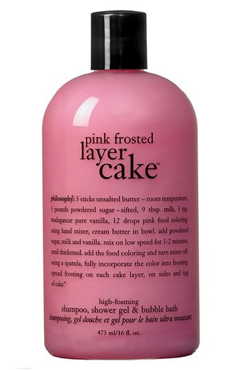 I ALWAYS have this in my shower!  It makes my whole bathroom (and me) smell like a fresh baked cake! Love Philosophy products.  ***Amber's fav***