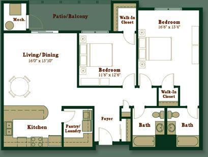 Floor Plans | CedarHeights.com | The Village at Cedar Heights, Mansfield, Massachusetts