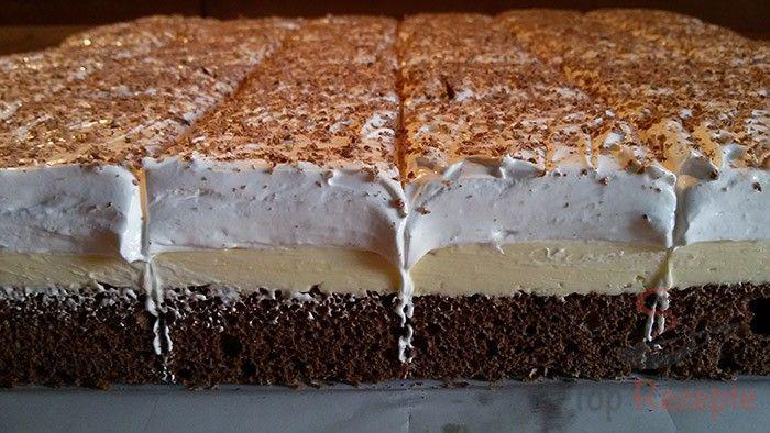 Ein beliebtes und geschmacklich fantastisches Dessert. Für Feiern geeignet oder einfach nur so zum Kaffee.