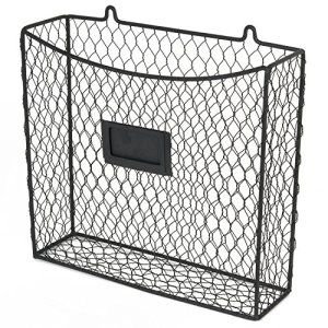+100 Small Kitchen Ideas to save space. Wire wall mounted storage basket solutions for tiny kitchen spaces. Kitchen Organization Ideas for Small Spaces Small kitchen ideas. Space saving ideas for small kitchen. Make the most out of your space. #kitchen #tinykitchen #spacesaving #hack #declutter #enjoy #amazon #home #decor #find #smallkitchen #smalliving Wall-Mount-Country-Style-Chicken-Wire-Basket-Kitchen-Utensil-Organizer-Storage-Drawer-Countertop-Organization