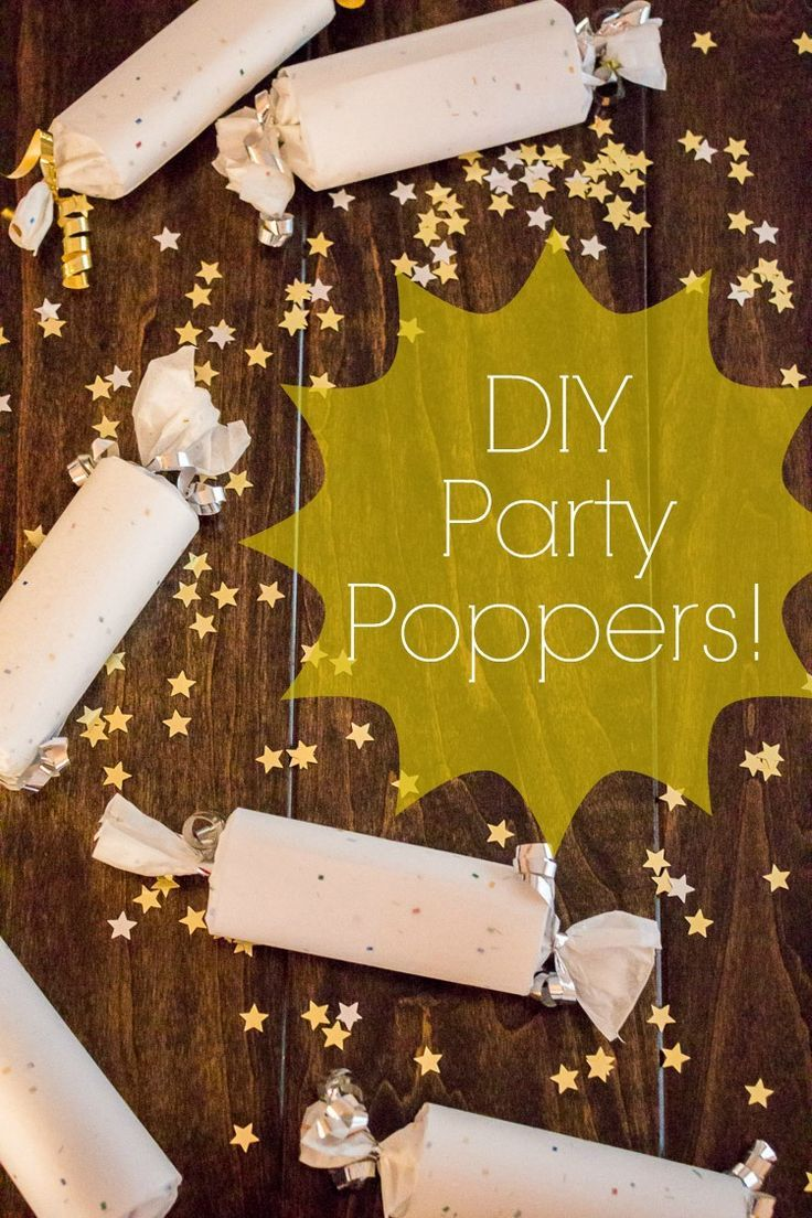 Video tutorial showing how to make party poppers! Perfect for Christmas, New Year's, or a birthday party! They even make the loud crack when you pop them open!