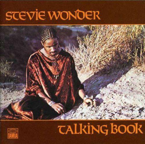 Stevie Wonder Albums | Stevie Wonder Talking Book Album Cover