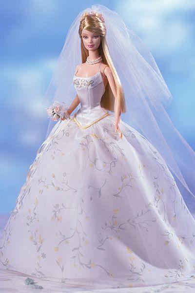 Our favorite wedding-day Barbies: Romantic Wedding Barbie (2001)