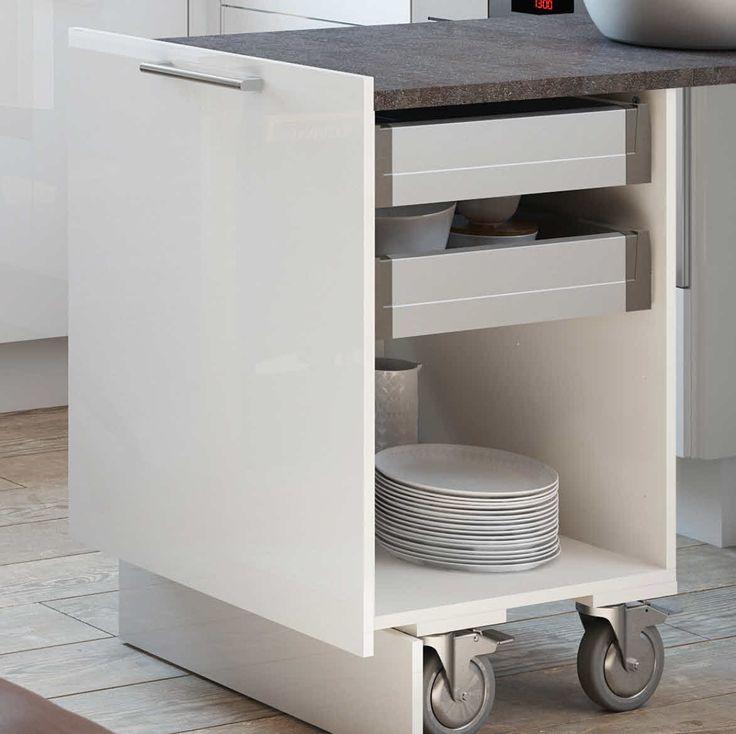 Roll Ausziehtisch: Schafft Augenblicklich Zusätzliche Arbeitsfläche In Der  Küche
