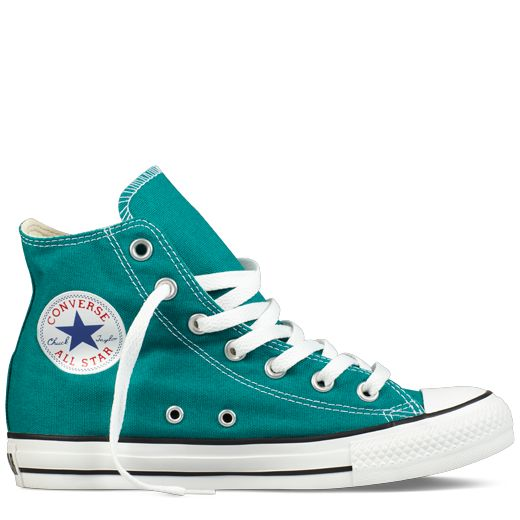 High Top Converse All Star- in Parasailing Blue!! Want!!!