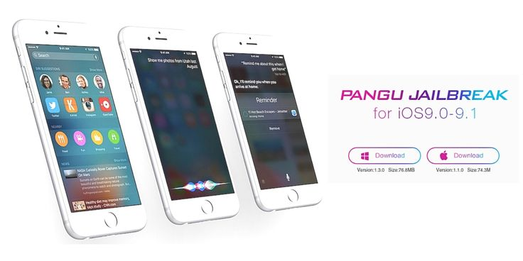 Pangu jailbreak for iOS 9.1 is now available