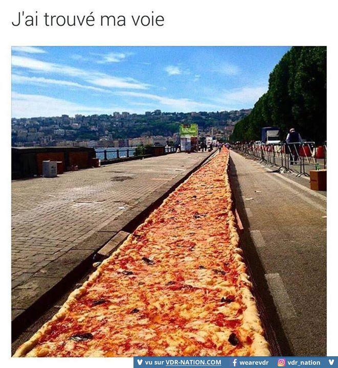 Chemin de la pizza