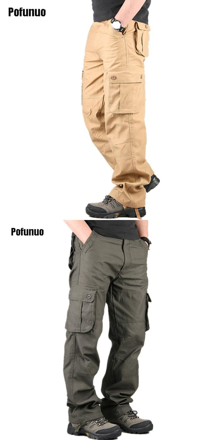 2017 New Autumn Lightweight Multi Pocket Militar Tactical Cargo Pants Men Combat Army Military Pants Joggers Cotton Man Trousers